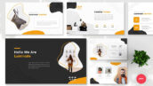تم پاورپوینت و گوگل اسلایدر Luminate Creative PowerPoint, Keynote, Google Slides Templates
