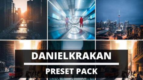 دانلود 10 پریست آماده لایت روم حرفه ای Danielkrakan Preset Pack