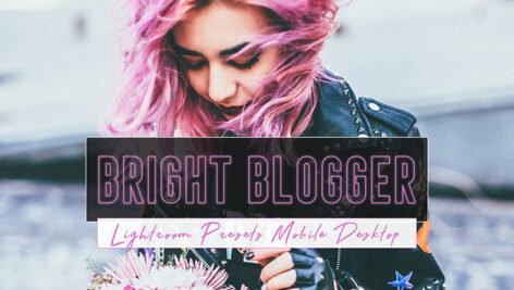 دانلود 9 پریست لایت روم حرفه ای بلاگر Bright Blogger Lightroom Presets