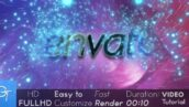 پروژه آماده افتر افکت با موزیک لوگو فضا Space