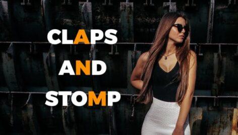 پروژه آماده افتر افکت با موزیک وله سبک اکشن Claps And Stomp
