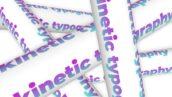 پروژه آماده افتر افکت تایتل و تایپوگرافی Kinetic Typography Posters