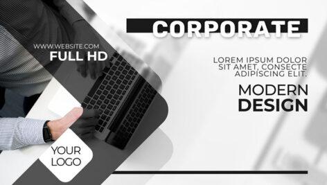 پروژه افتر افکت معرفی شرکت و محصولات Trendy Corporate Slideshow