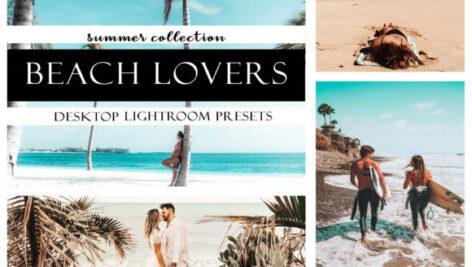 پریست آماده لایت روم Beach Lovers Desktop Lightroom Presets Graphic
