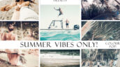 پریست آماده لایت روم Summer Vibes Only! Color Pop Presets
