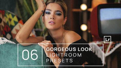 پریست لایت روم حرفه ای دسکتاپ و موبایل Gorgeous Look Lightroom Presets + Mobile