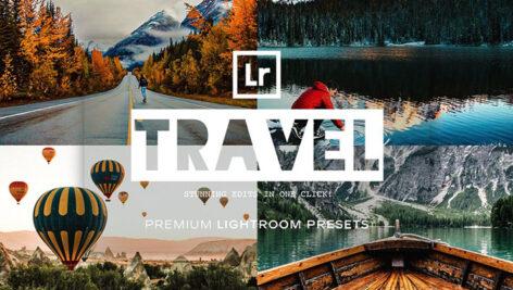 پریست لایت روم دسکتاپ و موبایل تم مسافرت Travel Lightroom Presets