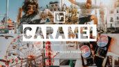 پریست لایت روم دسکتاپ و موبایل تم کارامل Caramel Lightroom Presets