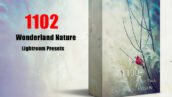 پکیج 1102 پریست لایت روم حرفه ای عجایب طبیعت Wonderland Nature Pack Presets