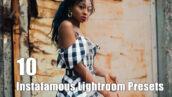 10 پریست لایت روم مشهور برای عکس اینستاگرام Instafamous Lightroom Presets