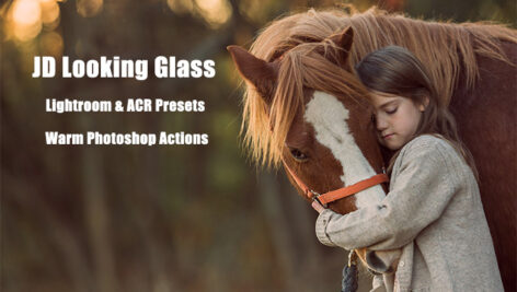 135 پریست لایت روم و کمرا راو و اکشن فتوشاپ JD Looking Glass