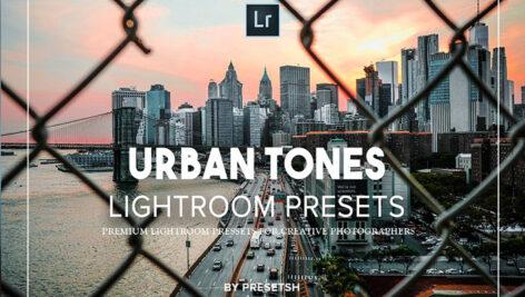 15 پریست آماده لایت روم تم رنگ شهری Urban tones Lightroom Presets