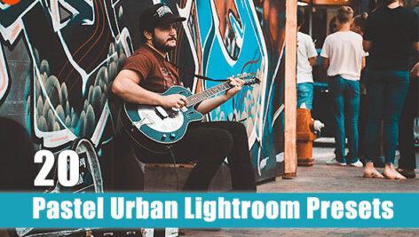 20 پریست لایت روم حرفه ای پاستلی Pastel Urban Lightroom Preset