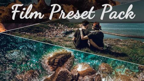 20 پریست لایت روم دسکتاپ و موبایل رنگ سینماتیک Film Presets Pack