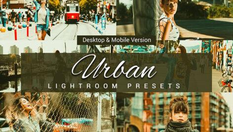 20 پریست لایت روم و لات رنگی Urban Lightroom Presets