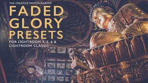 30 پریست لایت روم حرفه ای Faded Glory Lightroom Presets