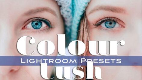 30 پریست لایت روم دسکتاپ و موبایل تم شاداب Colour Lush Lightroom Presets
