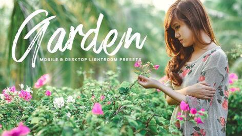 34 پریست لایت روم و پریست کمرا راو تم باغ Garden Lightroom Presets