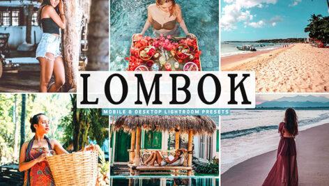 34 پریست لایت روم و پریست کمرا راو Lombok Mobile Desktop Lightroom Presets