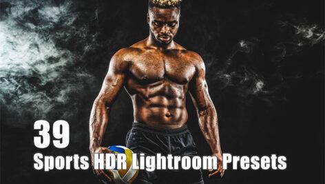 39 پریست لایت روم حرفه ای ورزشی Sports HDR Lightroom Presets