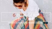 6 افکت رنگی لایت روم مخصوص بلاگرها Blogger Bundle Presets