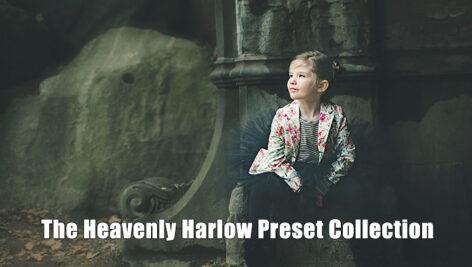 8 پریست لایت روم حرفه ای رنگ سینمایی The Heavenly Harlow Preset Collection