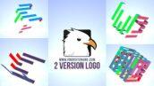 پروژه آماده افتر افکت با موزیک لوگو افکت مکعب رنگی Color Cube Logo