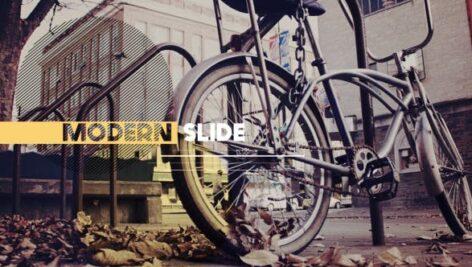 پروژه آماده افتر افکت با موزیک وله سبک مدرن Modern Slide