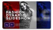 پروژه اسلایدشو آماده پریمیر با موزیک Slideshow Fashion Dynamic