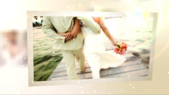 پروژه افتر افکت با موزیک اسلایدشو عروسی Memories Slide Show