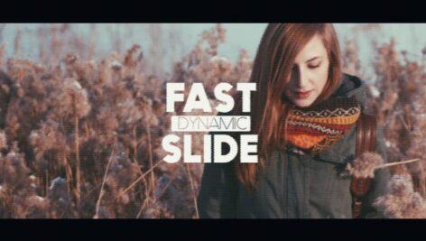 پروژه افتر افکت با موزیک وله سبک نویز Fast Dynamic Glitch Slide