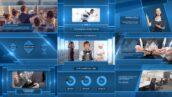 پروژه افتر افکت معرفی شرکت و محصولات با موزیک Clean Corporate Presentation