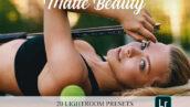 پریست لایت روم حرفه ای پرتره و براش لایت روم Lightroom Presets Matte Beauty