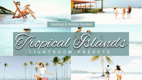 پریست لایت روم دسکتاپ و موبایل تم جزایر گرمسیری Tropical Islands Lightroom Presets