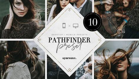 پریست لایت روم دسکتاپ و موبایل تم کاشف Pathfinder Lightroom Presets Bundle