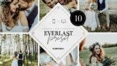 پریست لایت روم دسکتاپ و موبایل عشق جاودانی Everlast Lightroom Presets Bundle