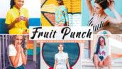 پریست لایت روم و پریست کمرا راو تم میوه Fruit Punch Pro Lightroom Presets