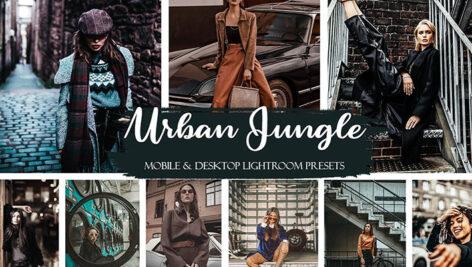 20 پریست لایت روم حرفه ای عکاسی خیابانی Urban Jungle Mobile & Desktop Presets Street Style Presets