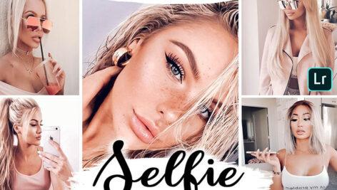 20 پریست لایت روم حرفه ای Selfie Mobile & Desktop Presets Portrait Lightroom Presets