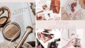 20 پریست لایت روم دسکتاپ و موبایل عکاسی محصولات Flat Lay Lightroom Presets for Product Photography