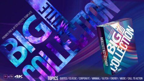 ۲۳۰ تایتل آماده پریمیر رزولوشن ۴K حرفه ای Favorite Big Title Collection Pack