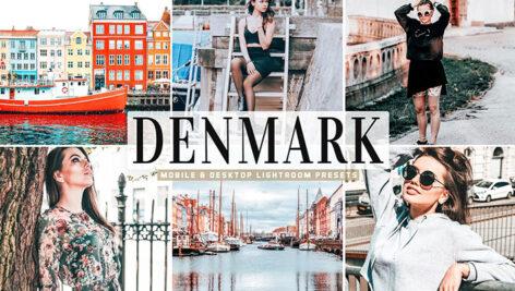 34 پریست لایت روم و پریست CameraRaw تم دانمارک Denmark Pro Lightroom Presets
