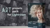 50 پریست لایت روم و پریست کمرا راو Andrei Vasiliev Art Presets for Lightroom