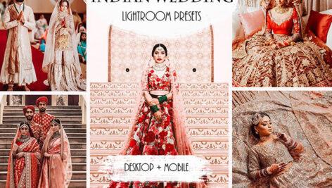 دانلود پریست های عروسی حرفه ای لایت روم تم عروسی هند Indian Wedding Lightroom Presets