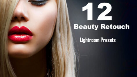 دانلود 12 پریست لایتروم برای روتوش پرتره Beauty Retouch Lightroom Presets