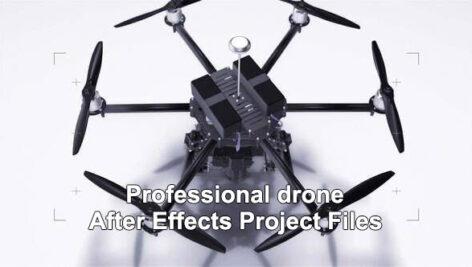 پروژه آماده افتر افکت با موزیک لوگو آتلیه عکاسی هلیشات حرفه ای Professional drone