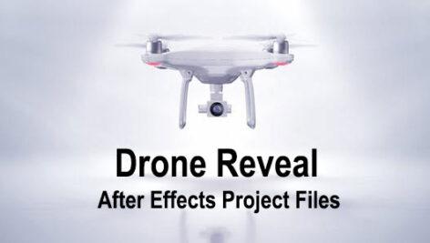 پروژه آماده افتر افکت با موزیک لوگو آتلیه عکاسی هلیشات Drone Reveal