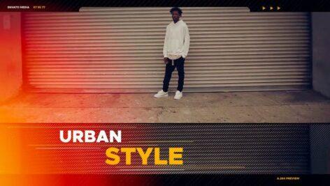 پروژه اسلایدشو پریمیر با موزیک تم پاپ Hip-Hop Opener