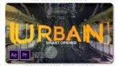 پروژه پریمیر اسلایدشو با موزیک پارالاکس دایره ای Parallax Urban Smart Opener