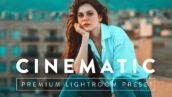 پریست آماده لایتروم با افکت های سینمایی CINEMATIC Premium Lightroom Preset
